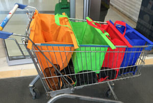 Cart Shopping Bag Trolley Bag for Super Market Shopping Bag for Cart