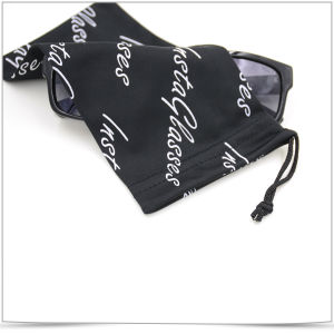 Promotional Screen Printing Microfiber Eyeglass Pouch pictures & photos