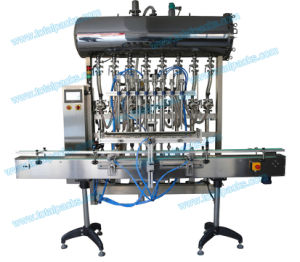 Automatic Eight Heads Bottle Filling Machine for Tomato Sauce/Salad Sauce (FLC-800A) pictures & photos