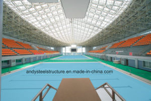 Prefabricated Galvanized Light Steel Space Frame Swimming Pool Roofing pictures & photos