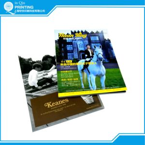 Printing Low Price Saddle Stitch Self Cover Magazine pictures & photos