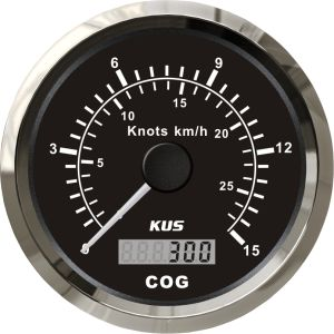 85mm GPS Speedometer 15L with Backlight Black Faceplate pictures & photos