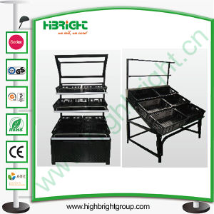 Cheap Price Supermarket Display Stand for Fruits pictures & photos