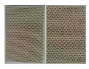 Flameless Gas Catalytic Infrared Honeycomb Ceramic Furnace Burner Plate pictures & photos