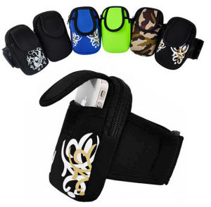 Cellphone Running Armband Bag Pouch for iPhone, for iPhone 6 Sports Arm Band Bag pictures & photos