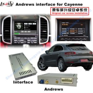 Car Android Navigation Interface Box for Porsche Macan, Panamera, Cayenne Upgrade Touch, 1080P, WiFi, Bt pictures & photos