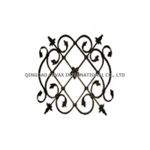 Steel Gate Flower Panel 11034 Wrought Iron Rosette pictures & photos