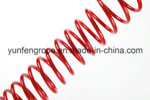 Nylon Plastic Coated Wire Rope 32/3′′~8/1′′