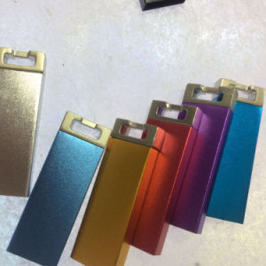 2016 Innovation Aluminum Surface Plane Rectangular Buckle, U Disk Pendrive pictures & photos