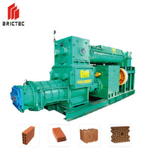 Double Stage Vacuum Extruder Clay Brick Process Machine pictures & photos