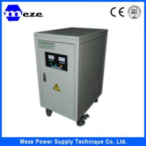 Power Supply DC 220V Automatic Voltage Stabilizer 10kVA pictures & photos