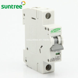 1 Pole DC 250V Solar Electric Circuit Breaker pictures & photos