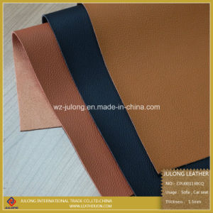 Micro Fiber Solvent Free PU Leather (CPU001) pictures & photos