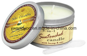 Unique Decorative Tin Candles Scent with Metal Lid