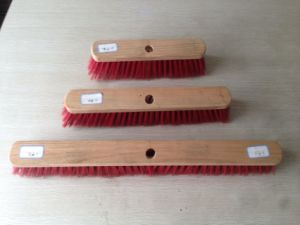 Wooden Broom Brush Head Only pictures & photos