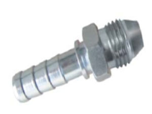 CNC Machining Swaged Hydraulic Hose Fitting pictures & photos