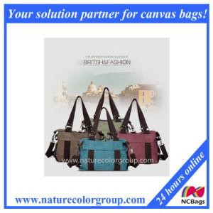 Durable Fashion Canvas Lady Handbag pictures & photos