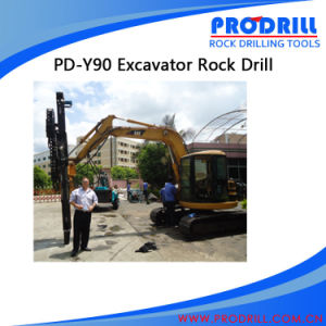 The Pd-Y90 Hydraulic Excavator Mounted Drill for Construction pictures & photos