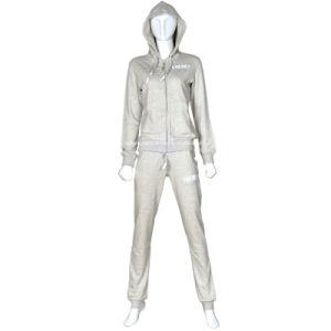 Women′s Fleece Jogging Sport Suit Tracksuit pictures & photos