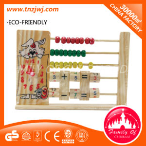 Educational Math Wooden Counting Frame Learning Study Toys pictures & photos
