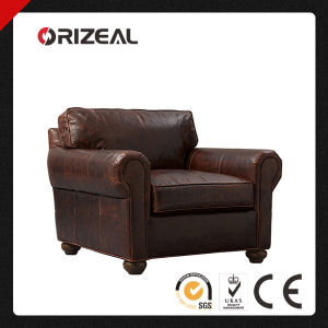 Orizeal Lancaster Genuine Leather Chair (OZ-LS-2030) pictures & photos