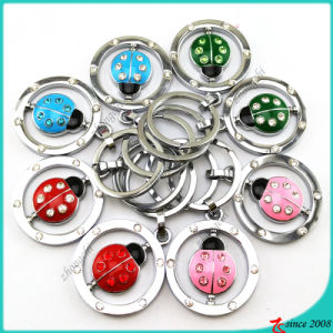 Wholesale Swing Coccinella Metal Keychain for Zoo Gift (KR16041911) pictures & photos