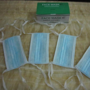 Non Woven Products 3 Ply Face Mask with Earloop pictures & photos
