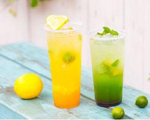 Clear Plastic Juice Cup Wholesale pictures & photos