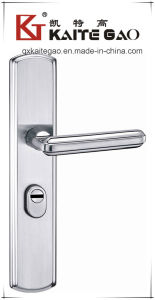 304 Stainless Steel Door Handle on Plate (KTG-6808-017) pictures & photos