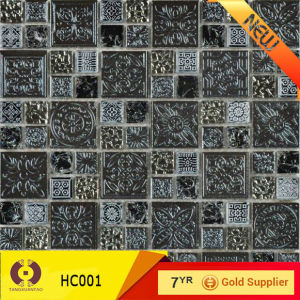 Make in China High Grade Glass Mosaic Living Room Mosaic Tile (HC001) pictures & photos