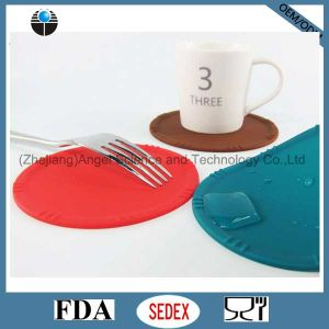 Waterproof Silicone Coaster for Coffee Cup Mat Silicone Cup Pad