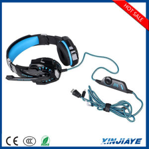 G9000 USB 3.5mm Stereo Gaming Headphone with LED pictures & photos