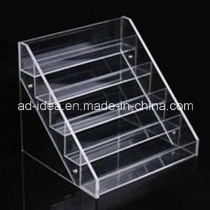 Five Tiers Clear Acrylic Rack Stand pictures & photos