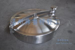 Sanitary Stainless Steel Elliptical Manhole Cover with Handles pictures & photos