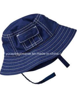 Boy Denim Bucket Hat, Boy Summer Hat pictures & photos