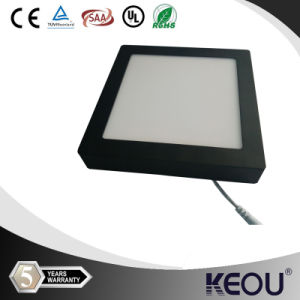 New Black LED Ceiling Panel Lights 6W 12W 18W 24W pictures & photos