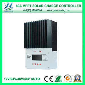 12/24/36/48V MPPT Solar Battery Charger 60A Controller with LCD (QW-MT4860A) pictures & photos