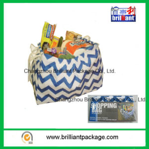 600d Oxford Protable Supermarket Foldable Trolley Shopping Bag pictures & photos