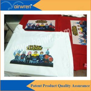 A4 Sizes Multicolor Digital Textile Direct to Garment Printing Machine pictures & photos