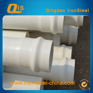 Municipal UPVC Pipes DIN Pn10 (Rubber Ring, socket) pictures & photos