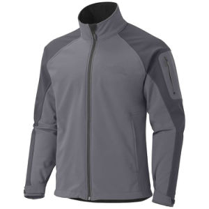 Men′s Contrast Colour Windproof Softshell Jacket pictures & photos