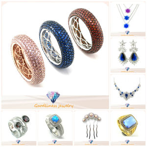 New 925 Silver Sterling Fashion Jewelry Ring (A2R001) with Color Stone pictures & photos