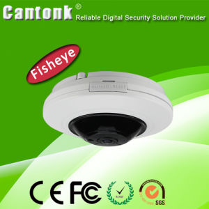 Hot 4MP Fisheye Dome Alarm I/O Security CCTV Vr Fisheye IP Camera (DE20) pictures & photos