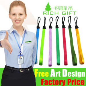 OEM High Quality Custom Polyester Nylon Lanyard for Camera pictures & photos