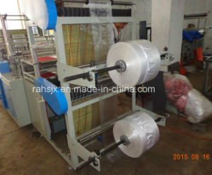 Double Layers Roll T-Shirt Bag Making Machine pictures & photos