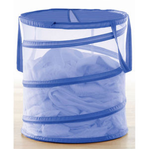 White Color Net Pop up Clothing Bucket pictures & photos