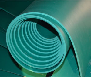 Acid and Alkali Resistant and Heat Resistant FKM Rubber Sheet pictures & photos