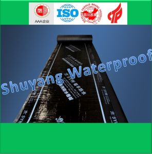 Self-Adhesive Polymer Modified Bitumen Waterproof Membrane pictures & photos
