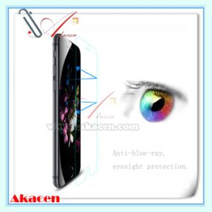 0.33mm Anti-Blue-Ray Tempered Glass Screen Protector Guard for iPhone 6s 6 4.7 Inch (Arc Edge)