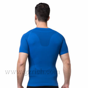 Mens Body Shaper Quick Dry Short Sleeve T Shirts pictures & photos